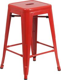Flash Furniture CH3132024REDGG