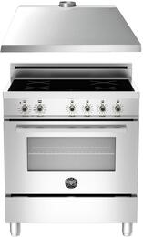 "2-Piece Stainless Steel Kitchen Package with PRO304INMXE 30"" Induction Range KU30PRO1XV 30"" Range Hood"