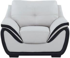 Global Furniture USA U3250R6U6GRBLCH