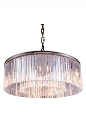 Elegant Lighting 1208G43PNRC