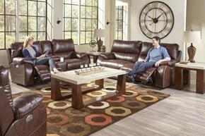 Sheridan Collection 64271-1152-59/1252-59SET 3 PC Living Room Set with Power Lay Flat Reclining Sofa + Loveseat + Recliner in Java Color