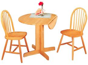 4137SET Damen Dining 5 PC Set (Table, 4 Side Chairs)
