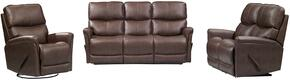 Easy Living Cologne Collection EL-9136501-3PC 3 Piece Reclining Living Room Set  with Sofa + Loveseat + Recliner