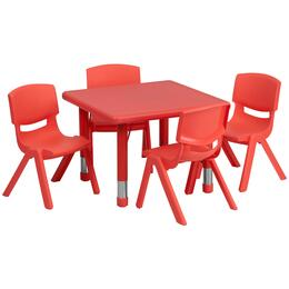 Flash Furniture YUYCX00232SQRTBLREDEGG