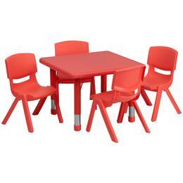 Flash Furniture YUYCX00232SQRTBLREDEGG