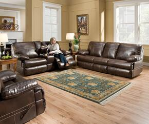 Miracle Saddle 50981-536316 3 Piece Set including Double Motion Sofa, Loveseat and Recliner  with  Stitched Detailing in Brown
