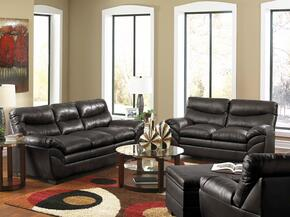 Soho 9515-030201 3 Piece Set including Sofa, Loveseat and Chair with  Bonded Leather  in Onyx