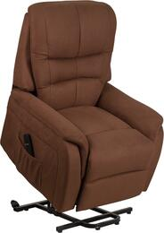 Flash Furniture CHUS153062LBRNMICGG