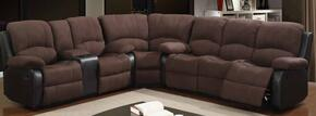 Global Furniture USA U1710CHOCSECTIONAL