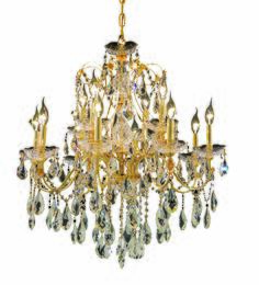 Elegant Lighting 2016D28GRC