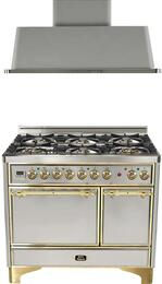 2-Piece Stainless Steel Kitchen Package with UMCD1006DMPI 40