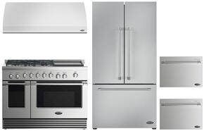 4 Piece Kitchen Package With RDV2485GDN 48