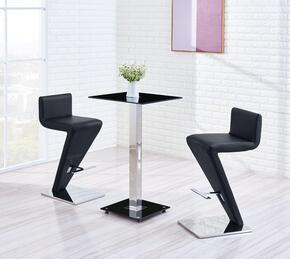 Global Furniture USA MD096BT2MB02BSBL