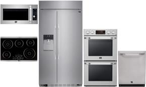 5-Piece Stainless Steel Kitchen Package with LSSB2692ST 42
