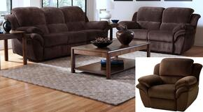 2089730PCHSLR Pebble Beach 3 Piece Manual Recline Living Room Set with Sofa, Loveseat and Recliner, in Chocolate