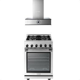 2-Piece Stainless Steel Kitchen Package with RN241GPSS 24