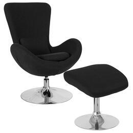 Flash Furniture CH162430COBKFABGG