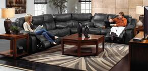 Catalina Collection 4311-1223-19/3023-19SEC 3 PC Living Room Set with Reclining Sofa + Loveseat + Wedge in Timber Color