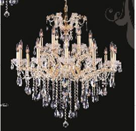 J & P Crystal Lighting 2800D34G