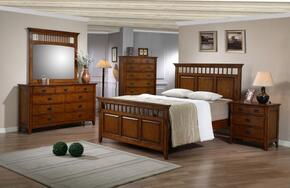 Tremont Collection SS-TR900-K-BED-SET 5 Piece King Size Bedroom Set with Bed + Dresser + Mirror + Chest + Nightstand