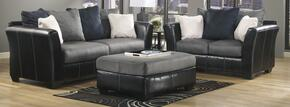 14200383PCKIT Masoli Two-Toned 3-Piece Living Room Set with Sofa, Loveseat and Ottoman in Cobblestone