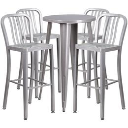 Flash Furniture CH51080BH430VRTSILGG