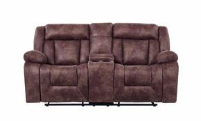 Global Furniture USA U8036JS110821BROWNCRLS