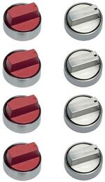 Set of 4 Red Knobs with Additi......