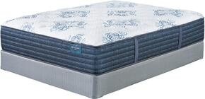 Milano Plush Collection MF-107/210-T Twin Mattress Set with Mattress and Foundation