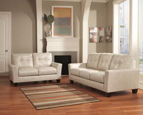 Paulie Collection 27000SL 2-Piece Living Room Set with Sofa and Loveseat in Taupe