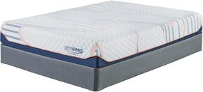 10 Inch MyGel Collection M75741-M81X42 Set of Mattress and Foundation in King Size