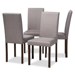 Wholesale Interiors ANDREWDININGCHAIRGREYFABRIC