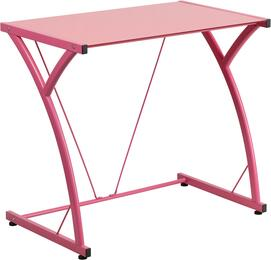 Flash Furniture NANWKSD02PINKGG