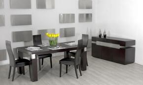 VGGU616-2-5PCSET Escape Collection 5 Piece Dining Set With Contemporary 71