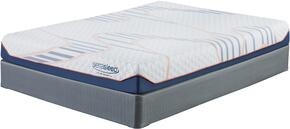 8 Inch MyGel Collection M75641-M81X42 Set of Mattress and 2 Foundations in King Size