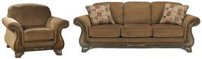 Matilda Collection MI-9918SC-MOCH 2-Piece Living Room Set with Sofa and Living Room Chair in Mocha