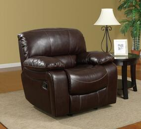 Global Furniture USA U8122Burgundy950R