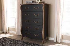 Wholesale Interiors BR990064BLACKOAK5DWCHEST