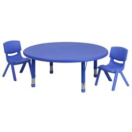 Flash Furniture YUYCX00532ROUNDTBLBLUERGG