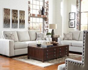 Rosanna Collection 508044SET 3 PC Living Room Set with Sofa + Loveseat + Chair in Cream Color