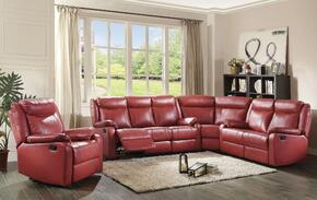 Glory Furniture G765SECTIONALRED
