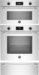 "3-Piece Stainless Steel Kitchen Package with MASFS30XV 30"" Electric Single Convection Wall Oven, MASCS30X 30"" Convection Steam Oven and MASWD30X 30"" Warming Drawer"