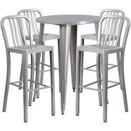 Flash Furniture CH51090BH430VRTSILGG