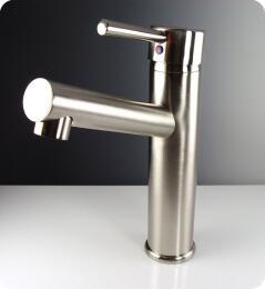 FFT1046BN Savio Single Hole Mount Vanity Faucet Option - Brushed Nickel