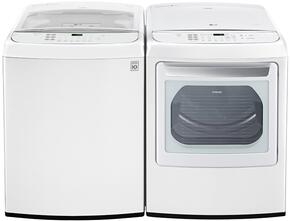 White Top Load Laundry Pair with WT1901CW 27