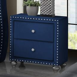 Cosmos Furniture ALANANIGHTSTANDNBLUE