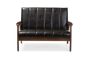 Wholesale Interiors BBT8011A2BLACKLOVESEAT