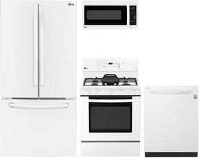 4-Piece Kitchen Package with LFC24770SW 33
