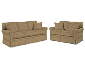 Audrey 3762QGSL/8595-83 2-Piece Living Room Set with Queen Good Night Sleeper and Loveseat in 8595-83 Beige