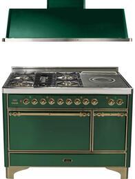 2-Piece Emerald Green Kitchen Package with UMC120SDMPVSY 48